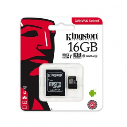 microSDHC 16GB Kingston...