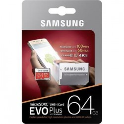 microSDXC 64GB EVO Plus...